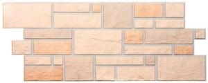 Фасадные панели BURG (ЗАМОК) - цвет Льняной - ZAVODKM