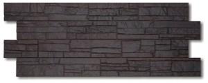 Фасадные панели STEIN (КАМЕНЬ) - цвет Темный орех - ZAVODKM