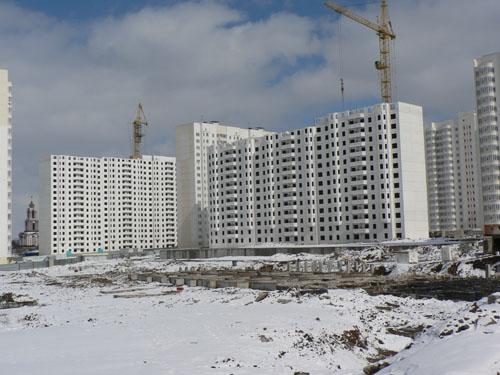 Начало строительства домов на Клыкова — Курский завод КПД ...