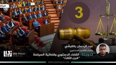 القضاء الدستوري وقضائية السياسة ج 3