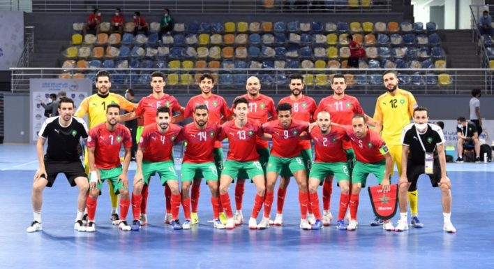 المنتخب-الوطني-المغربي-لكرة-القدم-داخل-الصالات