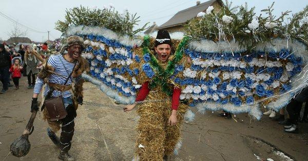 Масштабне святкування Маланки на Буковині. Фото дня ...