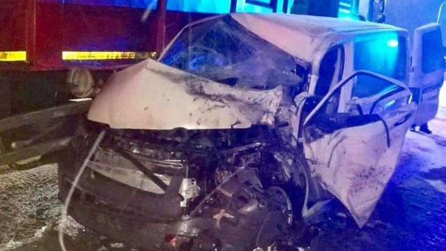 Поблизу Львова у ДТП постраждали семеро пасажирів мікроавтобуса