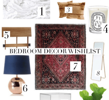 Bedroom Decor Wishlist