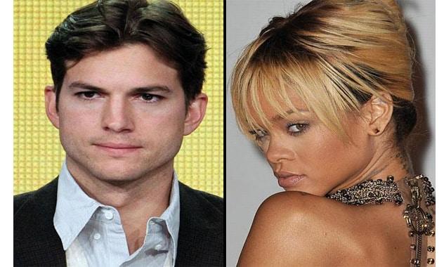 Rihanna Tweets About Ashton Kutcher—After Mom Jokes About Romance Rumors