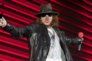 Axl Rose Declines Rock Hall Induction: Singer Says Guns N' Roses Reunion Will Not Happen