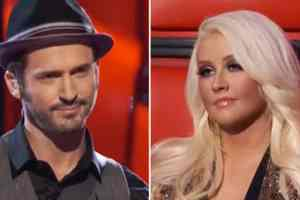 Tony Lucca & Christina Aguilera Clash Over B-Word on The Voice