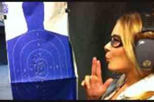 LeAnn Rimes Shoots Guns At Shooting Range  1