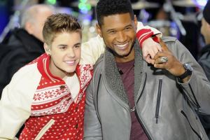 Justin Bieber Challenges Usher to a Dance-Off