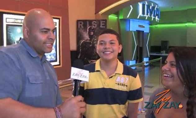 That's My Boy Premiere - ZayZay.Com  2
