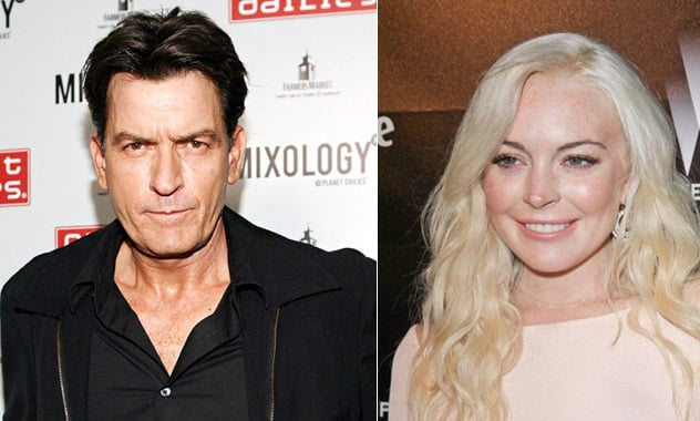 Charlie Sheen Lindsay Lohan Join Scary Movie 5 Will Almost Certainly Die Zay Zay Com