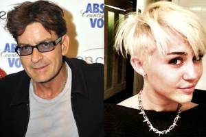Miley Cyrus' New Haircut: Charlie Sheen Likes It So Much He's Inviting Her Over