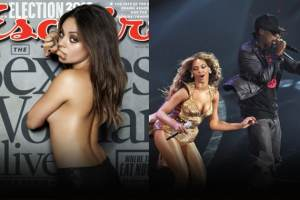 Weekend Wrap-Up: Mila Kunis Named Sexiest Woman Alive; Beyoncé Hits the Stage With Jay-Z 1
