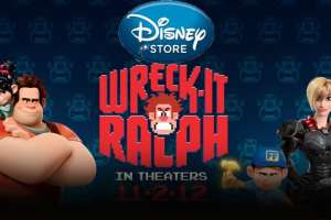 Visit your local Disney Store or DisneyStore.com to live the adventure of WRECK-IT RALPH.