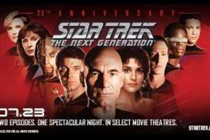 """Star Trek: The Next Generation® – A Celebration of Season 2"" Event Beams into U.S. Movie Theaters"