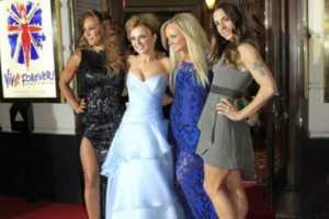 "The Spice Girls launch a new stage musical ""Viva Forever!"""