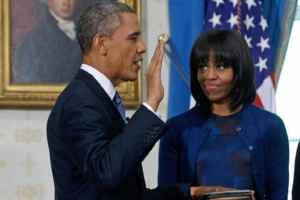 The 2013 Inauguration Schedule Process Of President Barack Obama