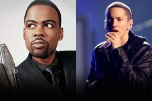 Chris Rock & Eminem? Comedian May Contribute To Rapper's Next Album  1