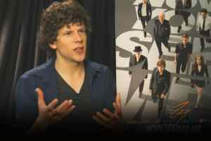 Jesse Eisenberg - Now You See Me Interview With ZayZay