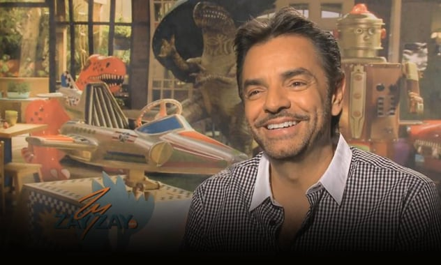Eugenio Derbez Interview- Instructions Not Included - ZayZayCom 1