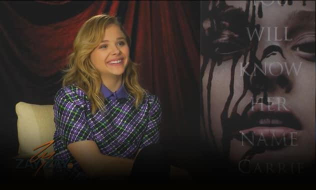 Chloe Grace Moretz - Carrie Double Interview - ZayZayCom 1