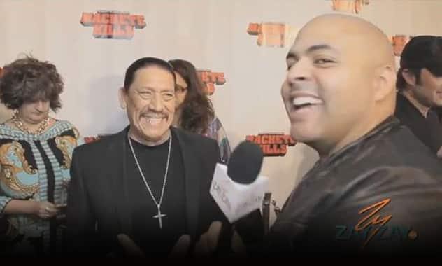Danny Trejo - Machete Kills Red Carpet Miami - ZayZay.Com