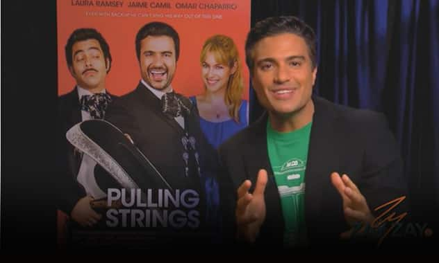 Jaime Camil - Pulling Strings Interview - ZayZayCom 2