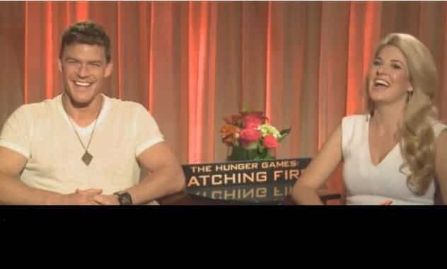 The Hunger Games: Catching Fire - Alan Ritchson & Stephanie Leigh Schlund - ZayZay.Com  3