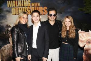 John Lequizamo (and Fam) make an appearance at 'Walking With Dinosaurs' premiere