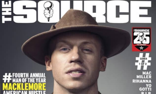 The Source Magazine Names Macklemore As Man Of The Year 2