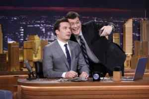 "Jimmy Fallon's ""The Tonight Show"" Debuts With Everyone Who Believed in Him...Or Didn't 2"