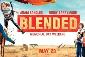 New Artwork for BLENDED Starring Adam Sandler & Drew Barrymore 3