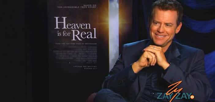 Greg Kinnear - Heaven Is For Real Interview - ZayZayCom