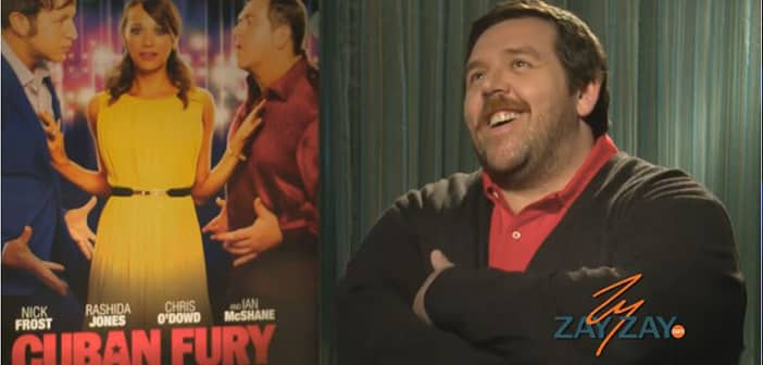 Nick Frost - CUBAN FURY Interview - ZayZay.Com