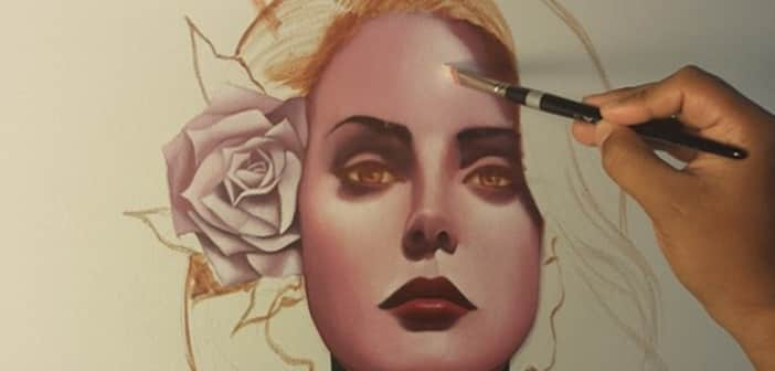 Lana Del Rey Artist Portrait Depicts Her Bitter End Zay Zay Com