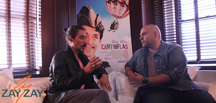Oscar Jaenada Interview - Cantinflas - ZayZay.Com