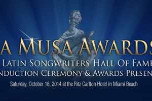 Star-Studded Lineup To Celebrate Latin Songwriters Hall Of Fame  LA MUSA AWARDS