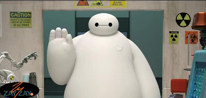 Big Hero 6 - Interview With The Big Hero Himself Baymax - ZayZay.Com 2