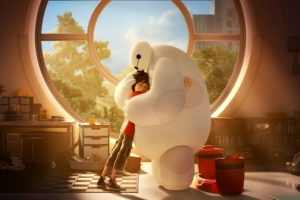 BIG HERO 6's Baymax Celebrated for National Hugging Day 2