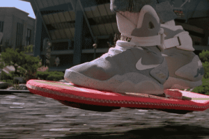 "Nike Decides To Begin Production On  The Shoe From ""Back To The Future """