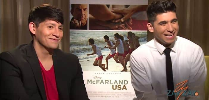 Carlos Pratts & Hector Duran - McFarland USA Interview - ZayZay.Com