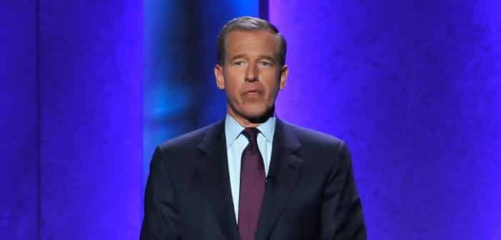 Brian Williams Gets Suspended From 'Nightly News' for Six Months