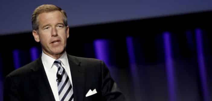 Former NBC Anchor Brian Williams Makes Re-Appearance For School Fundraiser