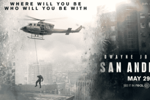 SAN ANDREAS - Dwayne Johnson on Kimmel! 1