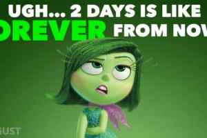 DISNEY*PIXAR - INSIDE OUT - Disgust has something to say