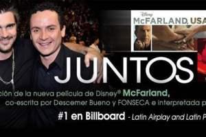 """1 ON EIGHT BILLBOARD LATIN CHARTS""""EL PERDÓN,"""" """"JUNTOS"""" AND """"CONTIGO"""" 3"""