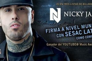 Chart Topping Singer-Songwriter Nicky Jam Is The First Performer Annnounced 2