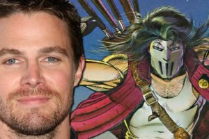 See First Look Of Stephen Amell as Casey Jones For TMNT 2