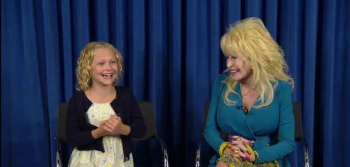 Dolly Parton Gets Her Mini-Me For Her Upcoming Movie