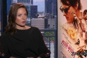 Rebecca Ferguson Interview - Mission: Impossible – Rogue Nation - ZayZay.Com